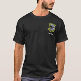 390th FS High Tech Eagle - (dark color) T-Shirt