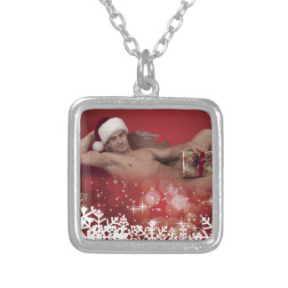 39163A-RA Chris Rockway Christmas Silver Plated Necklace