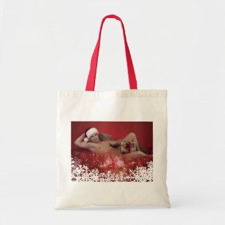 39163A-RA Chris Rockway Christmas Tote Bag