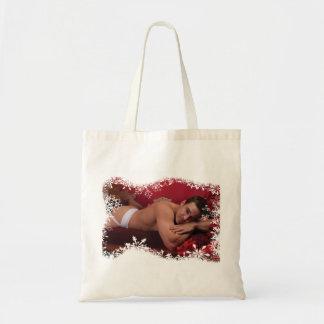 39186A-RA Chris Rockway Christmas Tote Bag