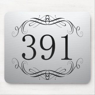 391 Area Code Mouse Pads