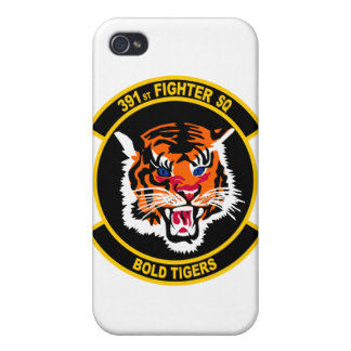 391o Caso intrépido del iPhone de los tigres del e iPhone 4 Protector
