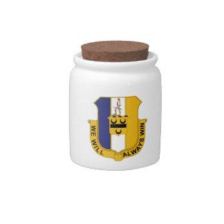 391st Infantry Regiment - We Will Always Win Candy Jar