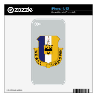391st Infantry Regiment - We Will Always Win Skins For iPhone 4