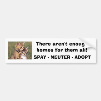 392324005_d000fde36f, There aren't enough homes... Bumper Sticker