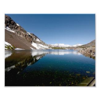 3929 Photograph of a mountain lake 5/13