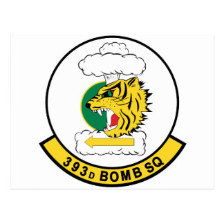 393d  Bomb Squadron Postcard