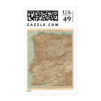 3940 Spain, Portugal ouest Postage
