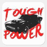 394 Tough Power Mustang Sticker