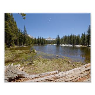 3954 Photograph of a Mountain Lake. 5/13
