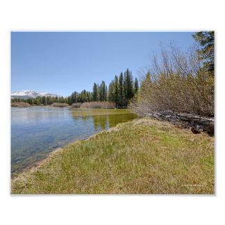 3964 Mountain lake in Yosemite 5 13 Photo Art
