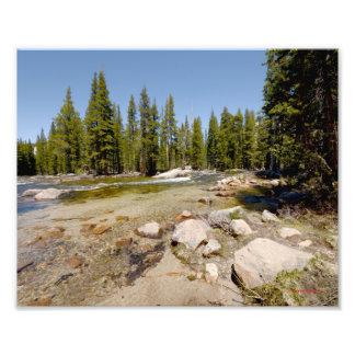 3970 Merced River in Yosemite 5/13 Photo Print