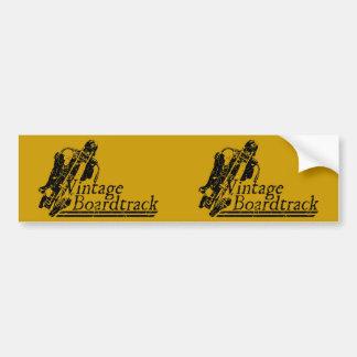 397 Vintage Boardtrack Bumper Sticker