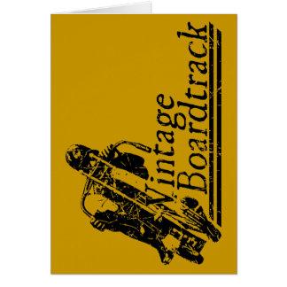397 Vintage Boardtrack Card