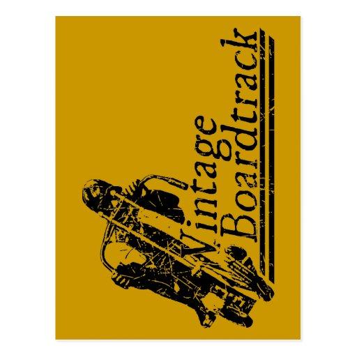 397 vintage Boardtrack Postales