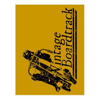 397 Vintage Boardtrack Postcard