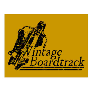 397 Vintage Boardtrack Postcard