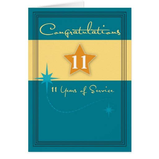 Years of servicer employee anniversary card zazzle