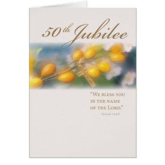 3994_50th Jubilee Cross in Gold Cards