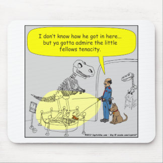 399 dino puppy size doesn't matter cartoon mouse pad