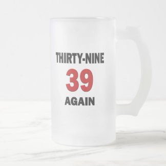 39 Again Coffee Mugs