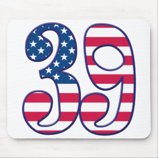 39 Age USA Mouse Pad