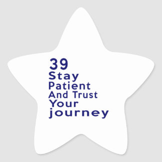 39 American Legend Birthday Designs Star Sticker