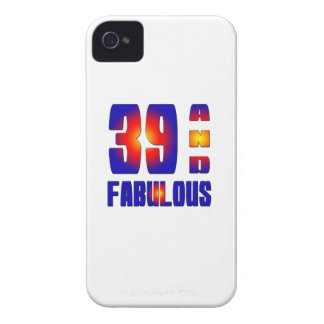 39 And Fabulous iPhone 4 Case-Mate Case