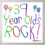 ¡39 años de la roca! impresiones