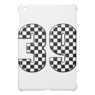39 auto racing number case for the iPad mini