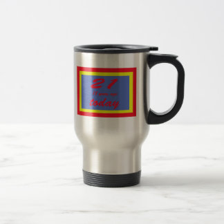 39 birthday 15 oz stainless steel travel mug
