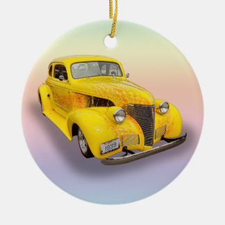 39 CHEVY 2 CERAMIC ORNAMENT