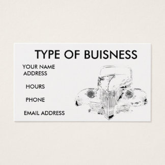 39 classic - Customized Business Card