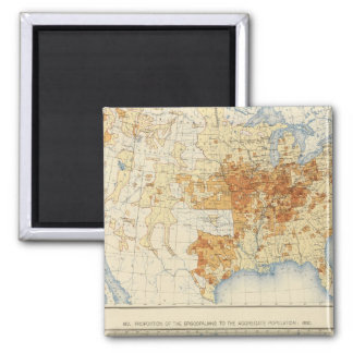 39 Disciples of Christ, Episcopalians 1890 2 Inch Square Magnet
