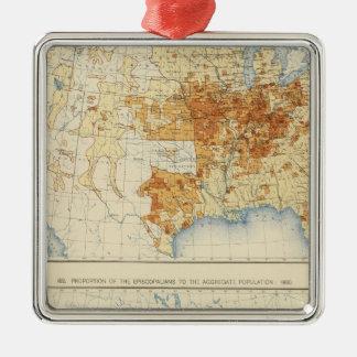 39 Disciples of Christ, Episcopalians 1890 Metal Ornament