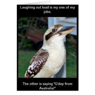39 Kate Street Kookaburra Card