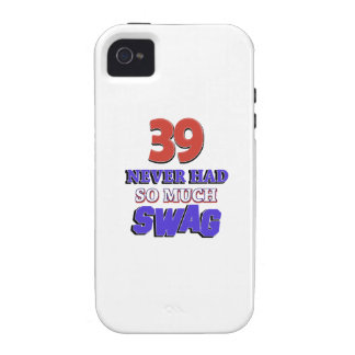 39 never had so much swag Case-Mate iPhone 4 case