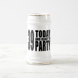 39.o Fiestas de cumpleaños: 39 hoy y aliste para Jarra De Cerveza
