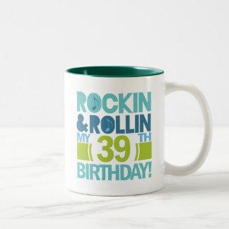 39.o Ideas del regalo de cumpleaños Taza De Dos Tonos