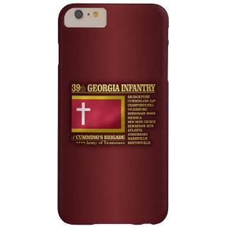 39.o Infantería de Georgia (BA2) Funda Para iPhone 6 Plus Barely There