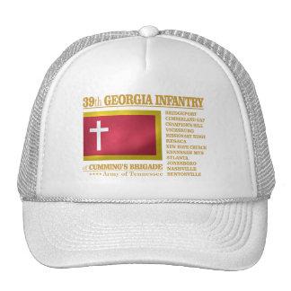 39.o Infantería de Georgia (BA2) Gorros Bordados