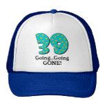 39.o regalo de cumpleaños divertido gorras de camionero