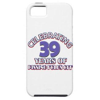 39.os diseños del cumpleaños iPhone 5 Case-Mate protectores