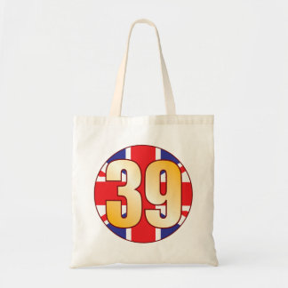 39 UK Gold Tote Bag