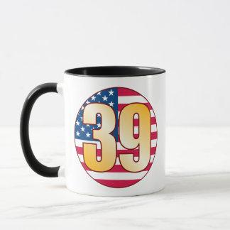 39 USA Gold Mug