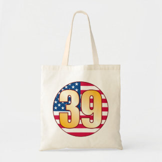 39 USA Gold Tote Bag