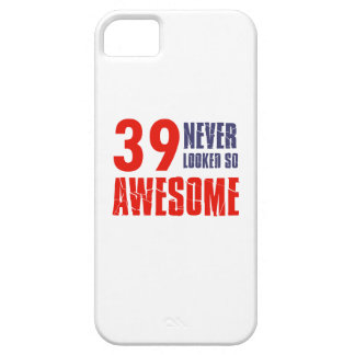 39 year  birthday designs iPhone 5/5S cover