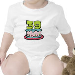 39 Year Old Birthday Cake Baby Creeper