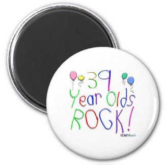 39 Year Olds Rock! Magnet