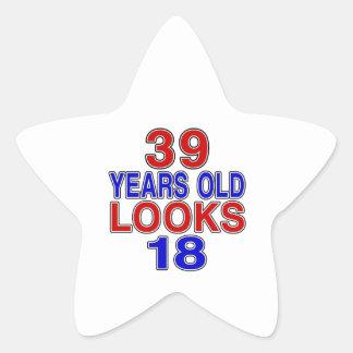 39 Years Old Looks 18 Star Sticker